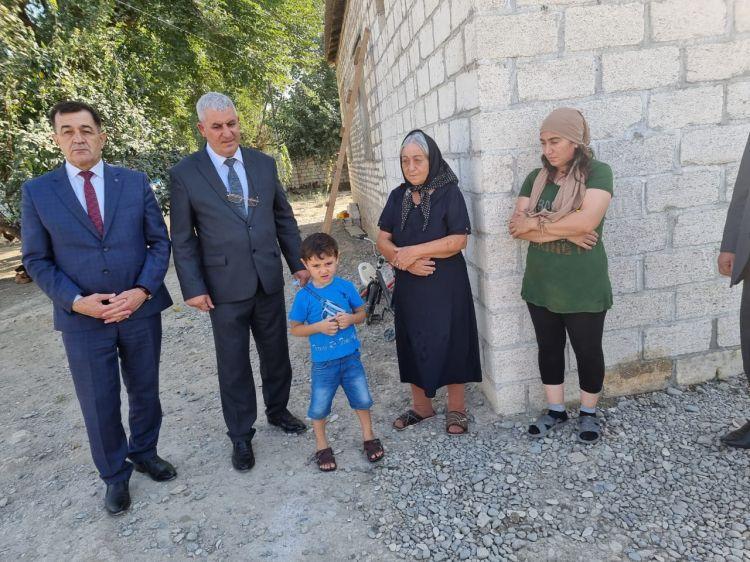Благородная инициатива азербайджанской диаспоры из Удмуртии - строится дом для семьи шехида - ФОТО