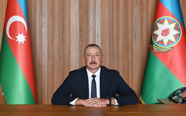 Президент Ильхам Алиев выступил в формате видеообращения на Генассамблее ООН - ВИДЕО
