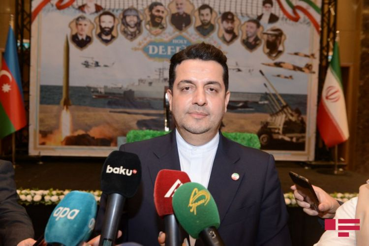 Ambassador clarifies Iranian Army's conduction exercises on border with Azerbaijan