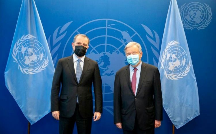 Антонио Гутерриш высоко оценил роль Азербайджана в борьбе с пандемией