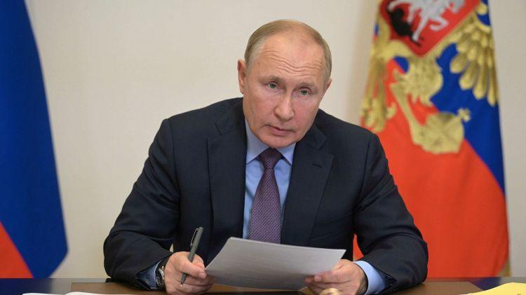 Владимир Путин поздравил президента Туркменистана