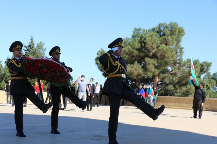 The memory of the martyrs commemorated with a minute of silence - PHOTOS