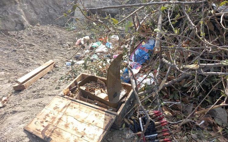 В Мингячевире обнаружены боеприпасы