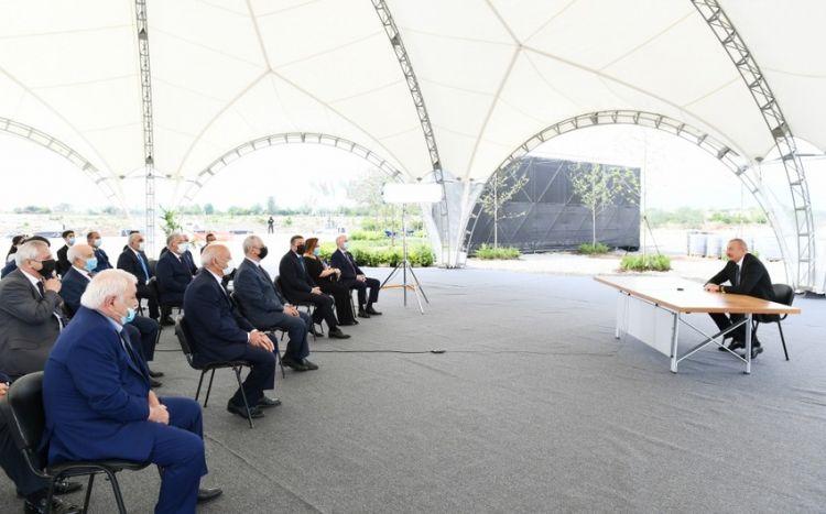 Ильхам Алиев: Каждый человек, посетивший Физули, становится свидетелем армянского вандализма, и это уже никто не сможет отрицать