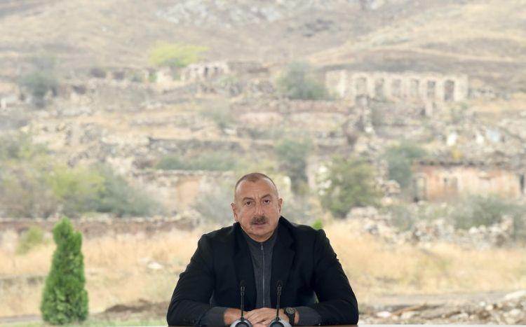 Лидер Азербайджана: На основе концепции «умное село» в селе Довлетъярлы будет создан крупный населенный пункт