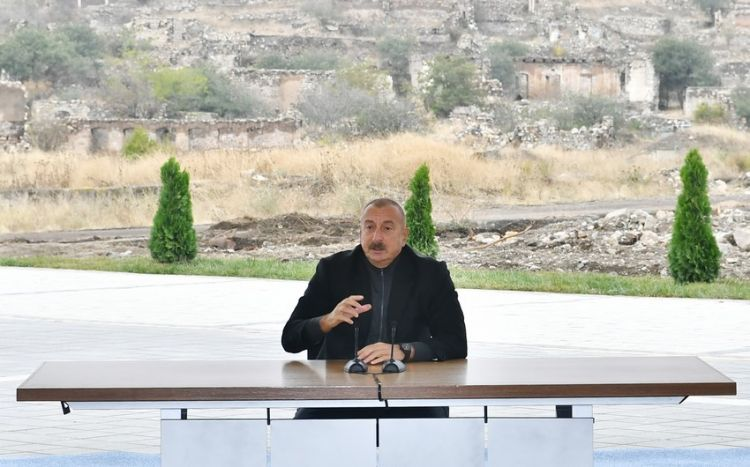 After Fuzuli came under our control, more opportunities opened up to move in Shusha direction - Ilham Aliyev