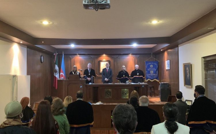 История независимости Азербайджана была представлена в Национальной академии истории и географии Мексики - ФОТО