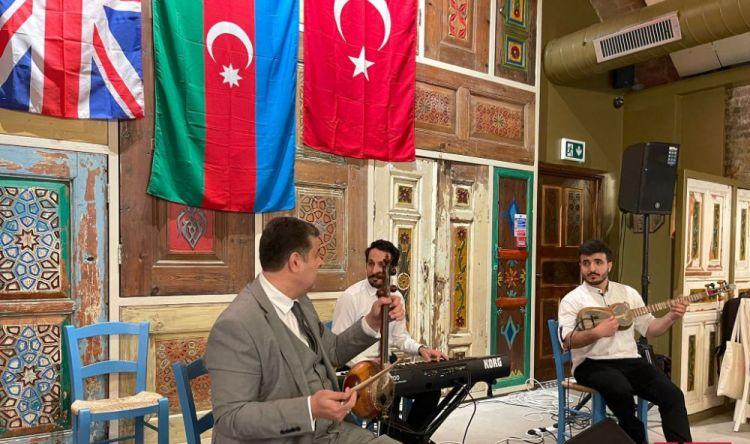 В Лондоне отметили годовщину восстановления независимости Азербайджана и победы в Отечественной войне - ФОТО
