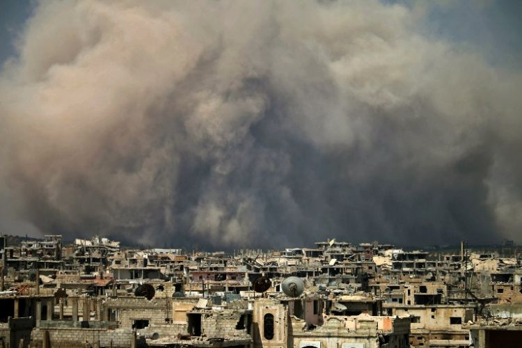 Damascus accuses Israel of carrying out airstrikes in Southern Syria