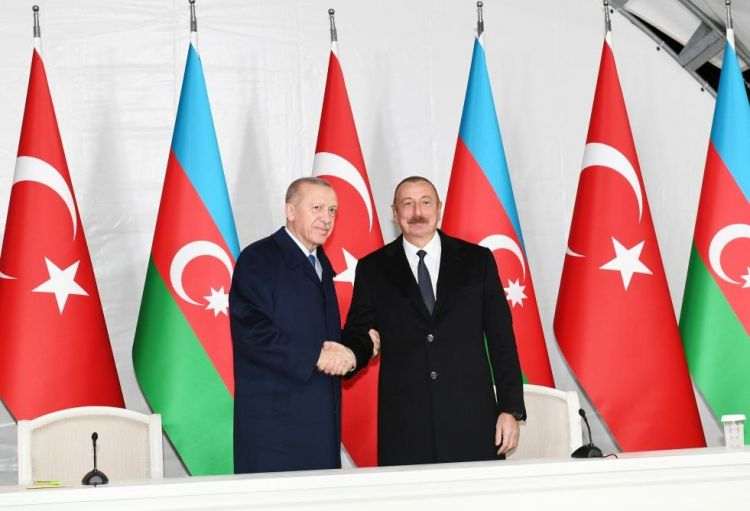 Ильхам Алиев: Зангезурский коридор соединит весь тюркский мир - Полный текст выступлений - ФОТО