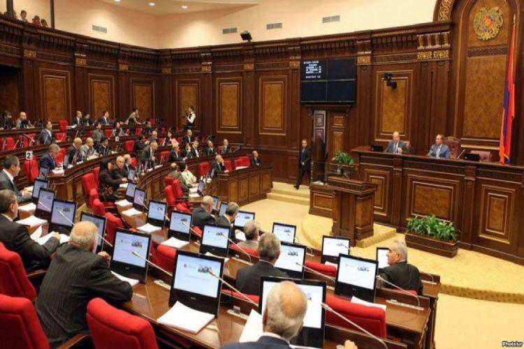 Ermənistan parlamenti Azərbaycan və Türkiyə əleyhinə bəyanatı qəbul etməyib