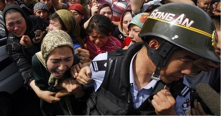 Çində uyğurlara qarşı işgəncələr ile ilgili görsel sonucu